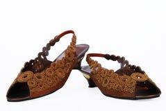dama smokingowi buty Fotografia Stock