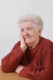 dama stara Zdjęcia Stock