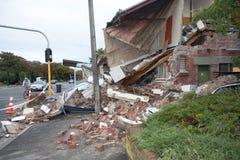 Damage on Bealy Avenue Royalty Free Stock Images