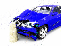 Damage of the car Royalty Free Stock Image