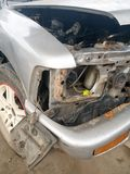 Condition of the car accident Stock Photo
