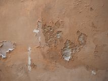 Damp moisture on wall Royalty Free Stock Photography