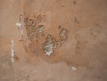 Damp moisture on wall Royalty Free Stock Image