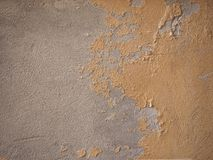 Damp moisture on wall. Damage caused by damp and moisture on a wall Stock Image