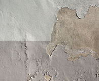 Damp moisture on wall Royalty Free Stock Images