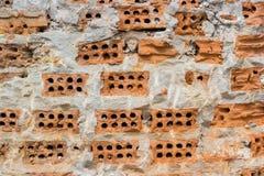 Damage contruction brick Stock Photography