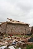 Damage after an F5 tore through Moore Oklahoma Stock Photos
