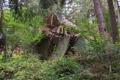 Damage house Royalty Free Stock Photo