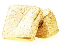 Damage pile bread Stock Photography