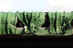Damage roof Royalty Free Stock Photos