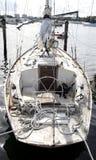Damage sailboat Stock Photography