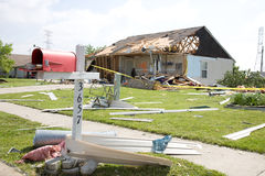 Damage After the Storm Royalty Free Stock Photo