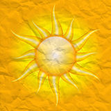 Damage by the sun Royalty Free Stock Photography