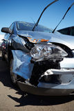 Damage To Car Involved In Accident Stock Photos