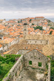 Damage from War Visible in Dubrovnik Old Town Royalty Free Stock Photography