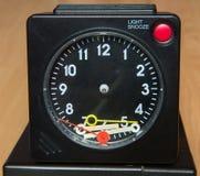 Damaged alarm clock Royalty Free Stock Photography