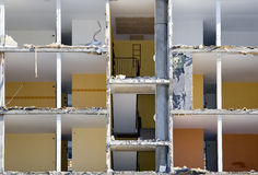 Damaged apartment Stock Image