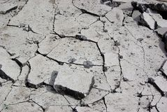 Damaged asphalt. Damaged cracked asphalt pattern texture Royalty Free Stock Photos