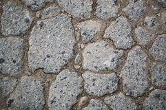 damaged asphalt is a neutral color Stock Images