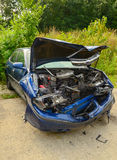 Damaged Automobile. From an auto accident Royalty Free Stock Image
