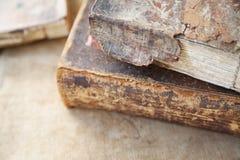 Damaged book textures stock image