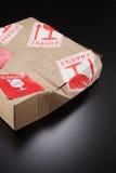 Damaged box Royalty Free Stock Photography