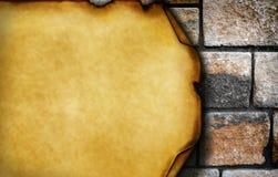 Damaged brick wall Royalty Free Stock Photography