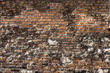 Damaged brick wall texture Royalty Free Stock Photography