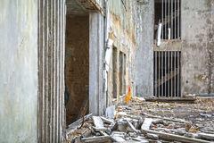 Damaged building Royalty Free Stock Photography