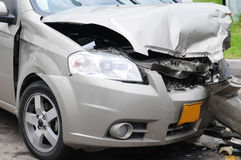 Damaged car. Stock Images