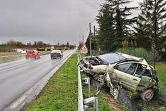 Damaged car Stock Photos
