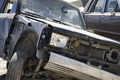Damaged Car Royalty Free Stock Photography