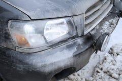 Damaged Car Bumper Royalty Free Stock Image