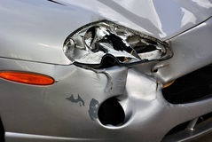 Damaged car Stock Image