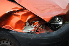 Damaged car Stock Images