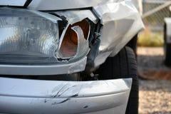 Damaged car close up Stock Photo