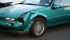 Damaged car needing repair Royalty Free Stock Photos