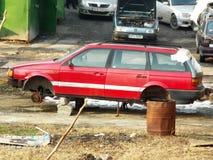 Damaged car Stock Images