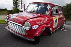 Damaged car at  Rally Stock Image