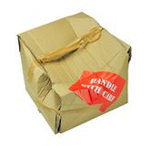 Damaged cardboard box Royalty Free Stock Photography