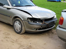 Damaged cars royalty free stock images