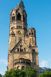 The damaged church of Berlin Royalty Free Stock Image