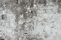 Damaged concrete wall Royalty Free Stock Photo