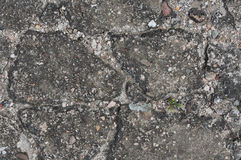 Damaged cracked asphalt texture Royalty Free Stock Image