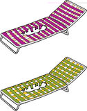Damaged Deck Chairs Stock Images