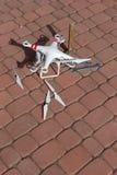 Damaged drone Stock Photos