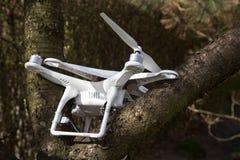 Damaged drone Stock Image