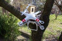Damaged drone Royalty Free Stock Photo
