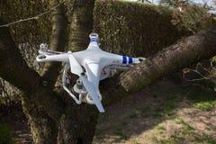 Damaged drone Royalty Free Stock Image
