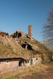 Damaged farmhouse Royalty Free Stock Photography